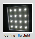Ceiling Tile Lights