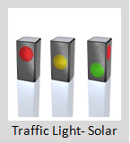 Solar Traffic Lights