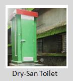 Dry-san Toilet