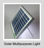 Solar Multipurpose Light